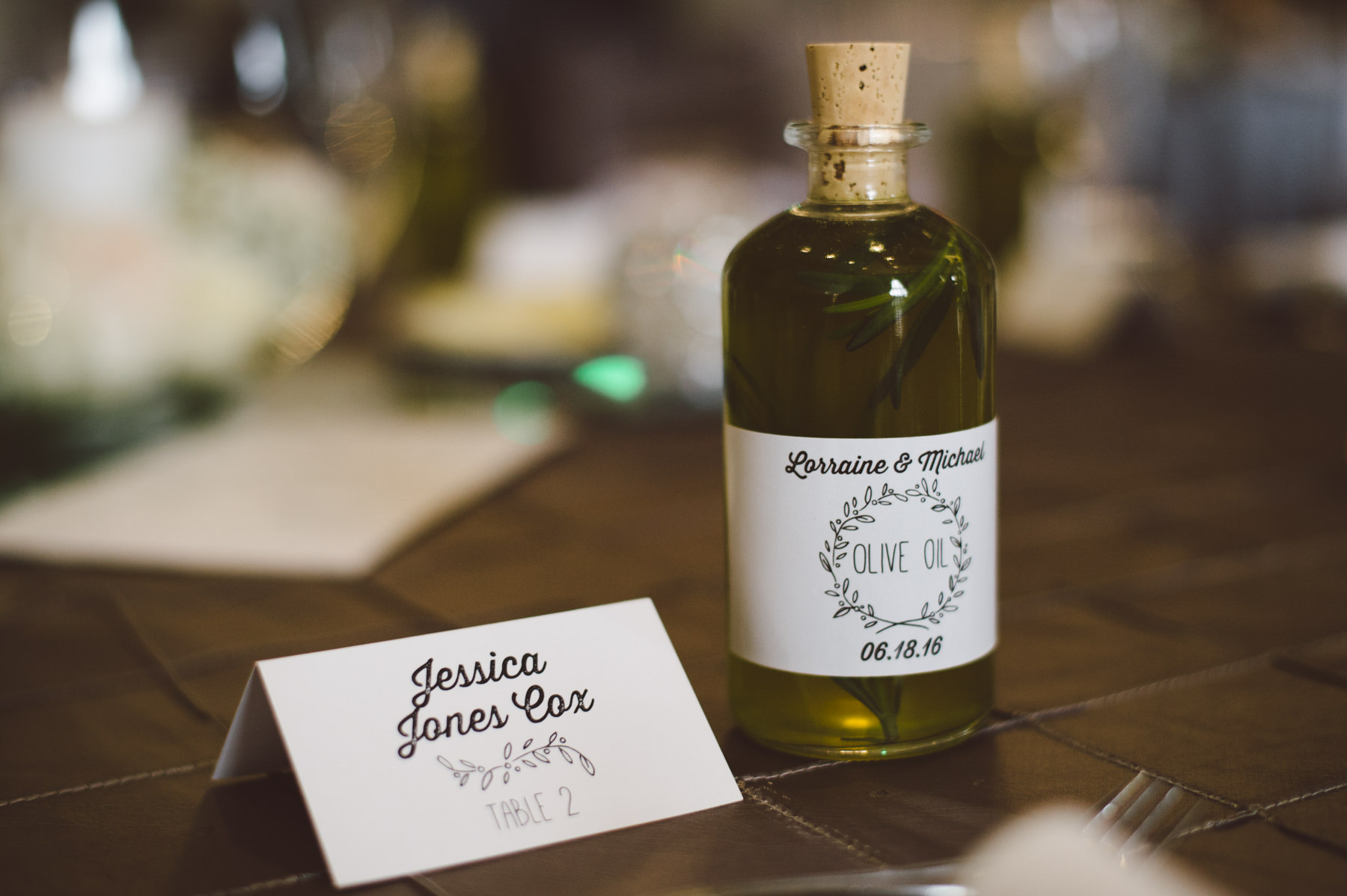 Customized favors