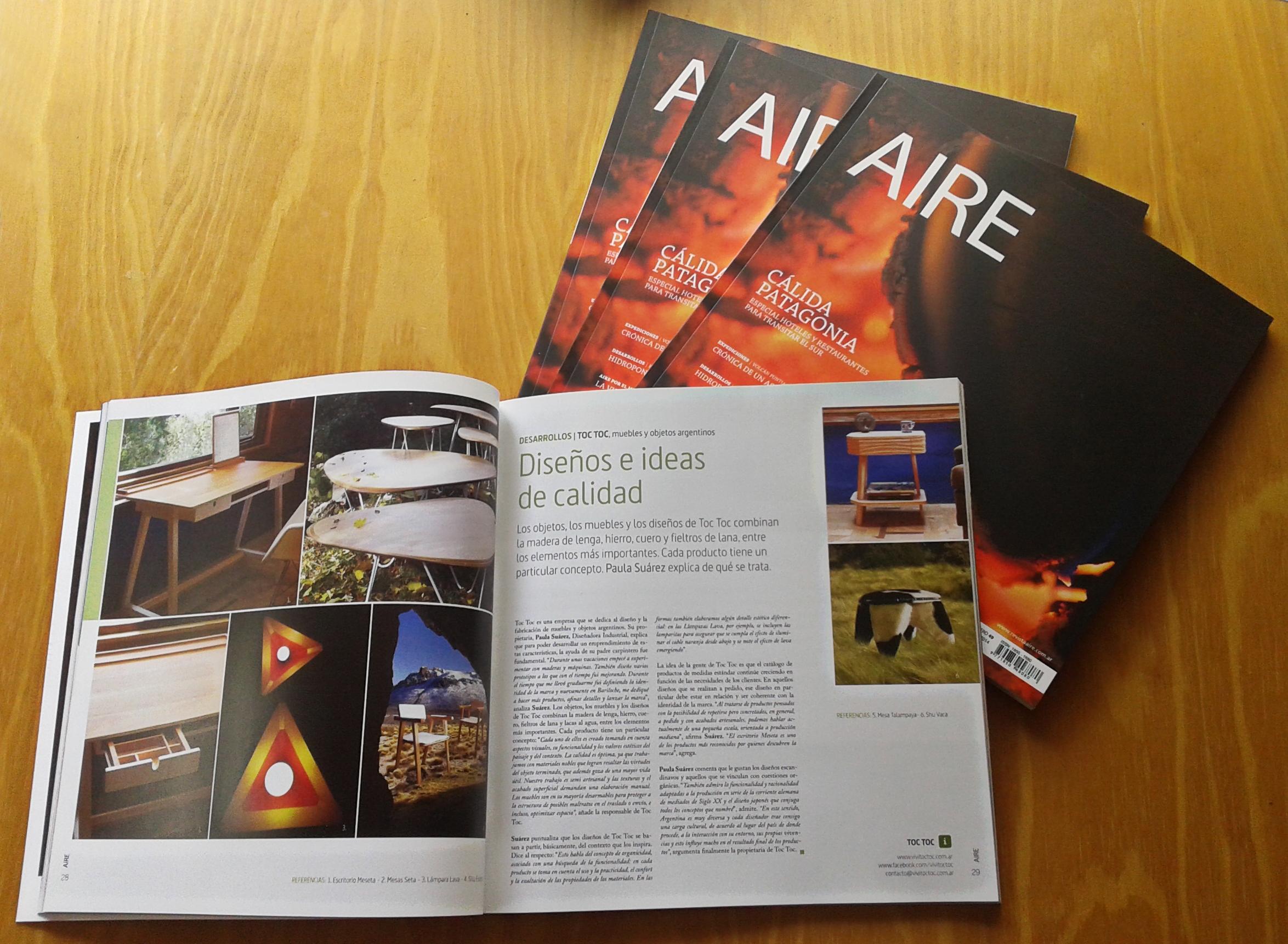 Nota Revista Aire #49