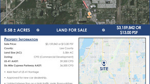Strathmore Real Estate Group Continues Rapid Pace of Credit Tenant Retail Development