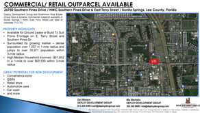 Strathmore Makes Available High Traffic Lee County Site for QSR or Convenience Stop Users