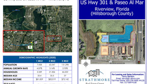 Strathmore Real Estate Group Continues Single Tenant Development in Riverview, Florida