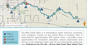 Strathmore to Provide Public Access Easement to Facilitate Extension of Red Cedar River Water Trail
