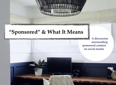 """""""Sponsored"""" & What it Means"""