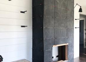 Fireplace Wall - Week 2