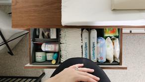 Nursery Organization: So Many (tiny) Things!