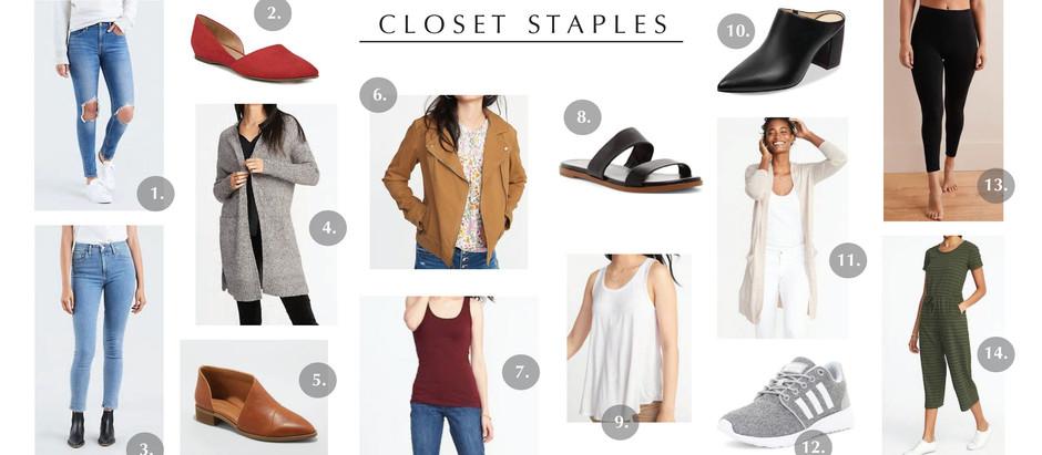 Life Lately + My Closet Staples