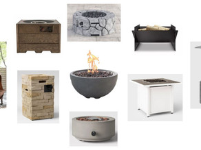 A Round Up: Outdoor Fire Pits + The Scoop on Ours