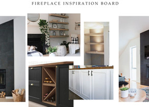 Fireplace Wall - Week 1