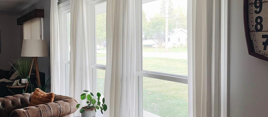 How To: DIY Curtain Upgrade + (Other Curtain Panels I Love)