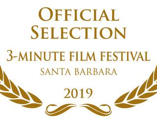 3:13 at the Santa Barbara 3 Minute Film Festival