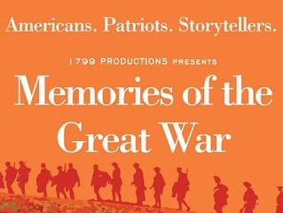 Memories of the Great War Premiere