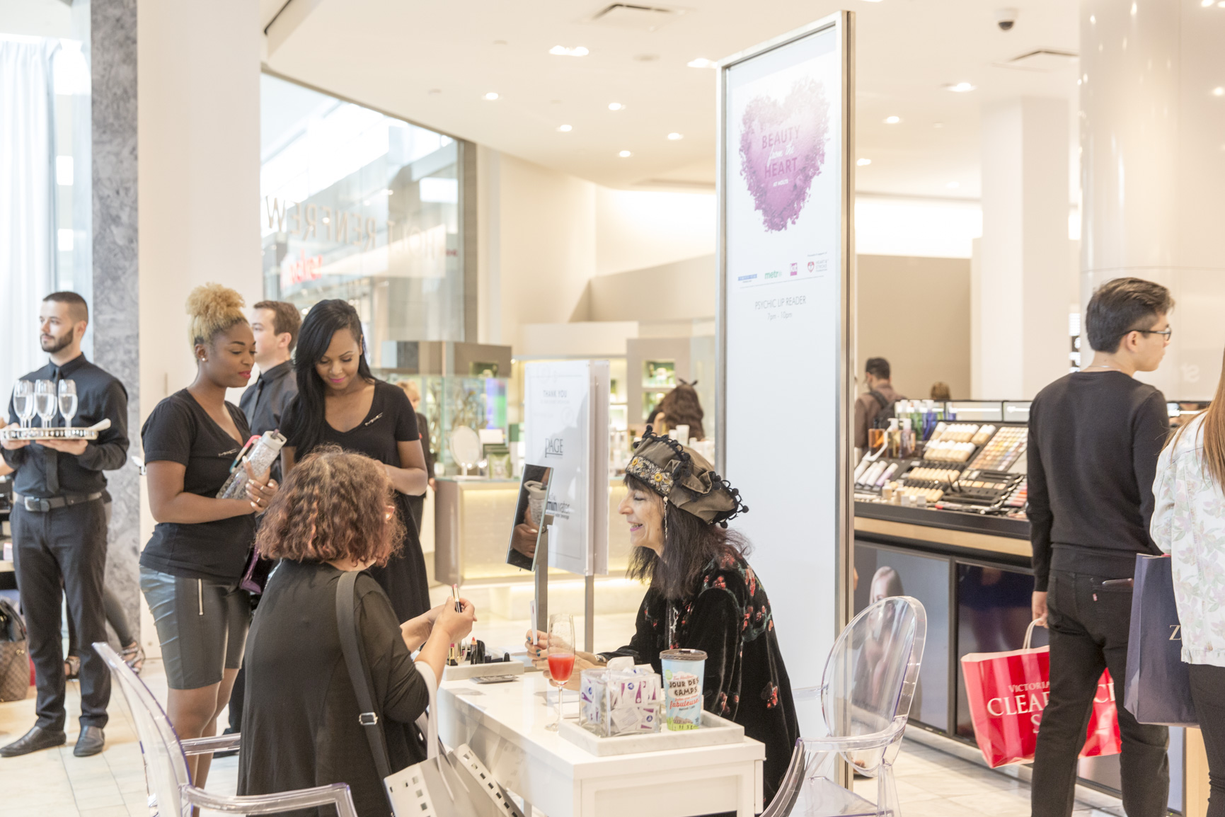 Holt Renfrew Benefit 2015