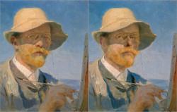 Peder Severin Kroyer, Self Portrait, 1888, Chris Golson.