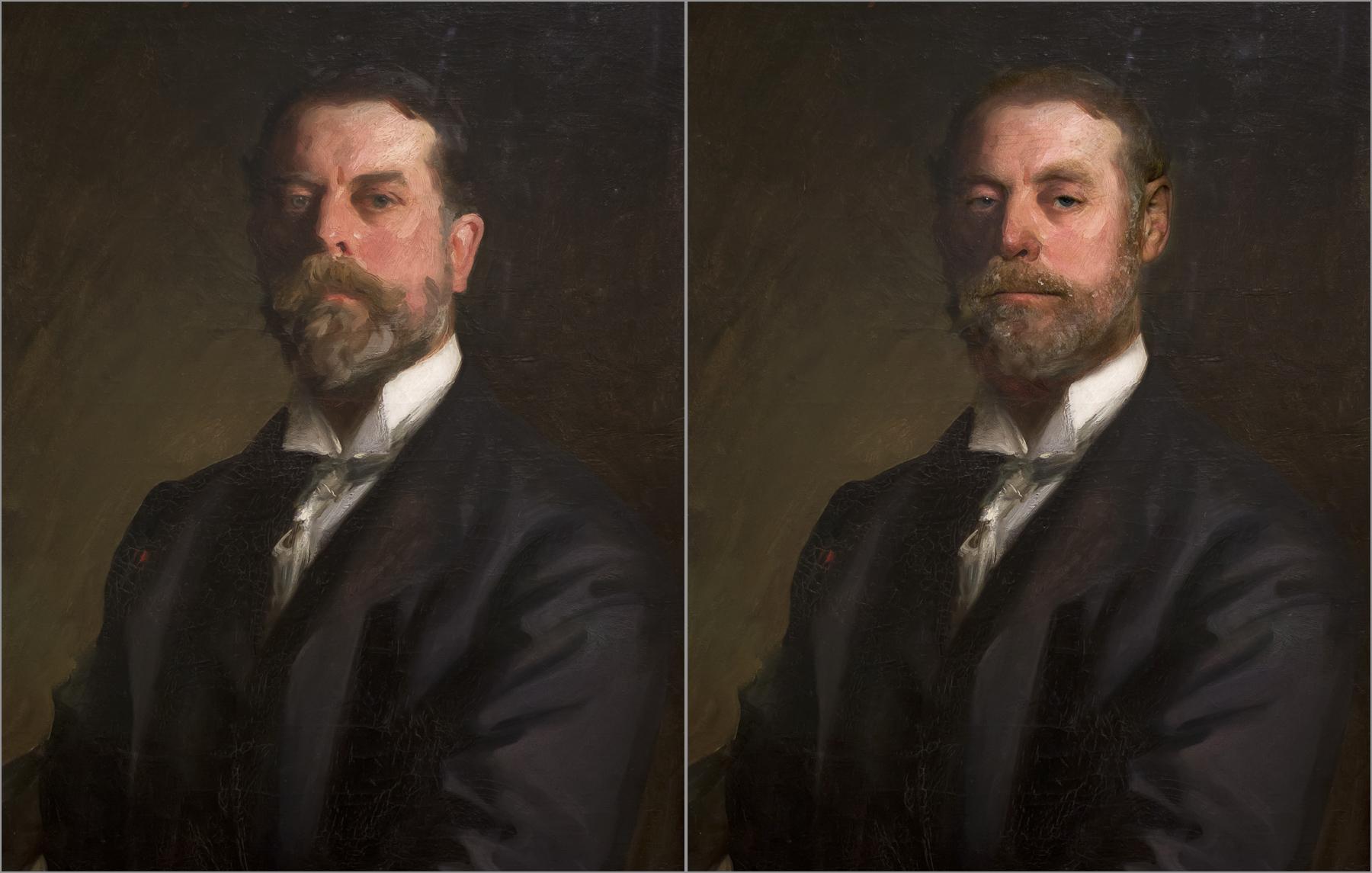 John Singer Sargent, Self Portrait 1906, Chris Golson.