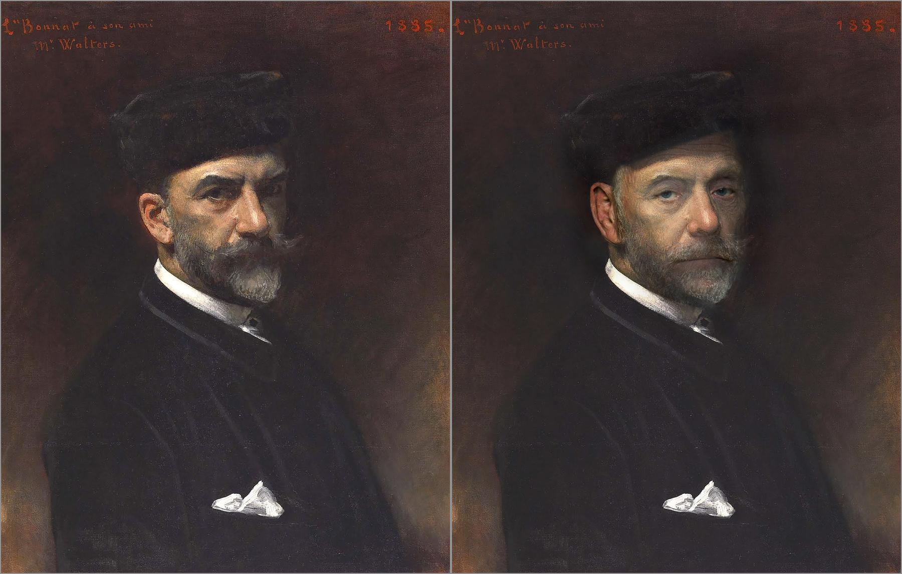Leon Bonnat, Self Portrait, 1885, Chris Golson.