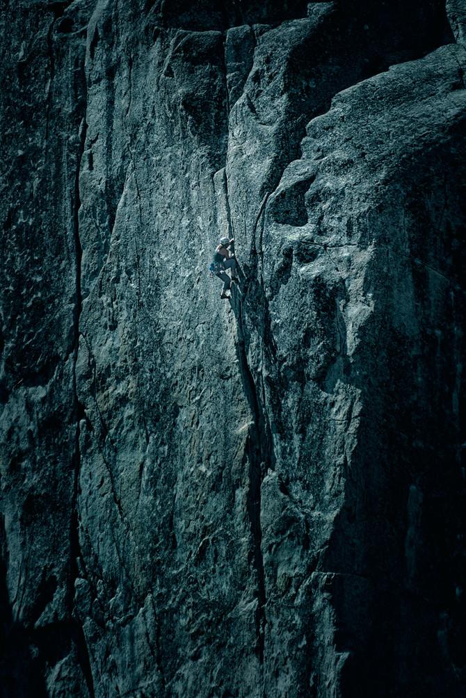 Climbing at Donner Pass Ca.
