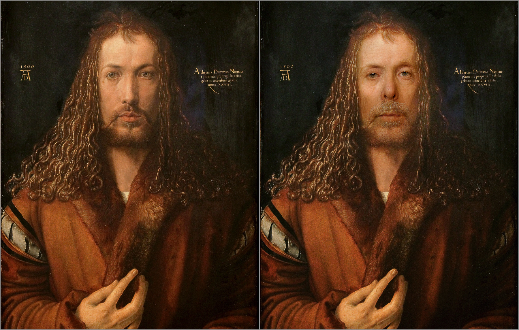 Albrecht Durer, Self Portrait, 1500 Chris Golson