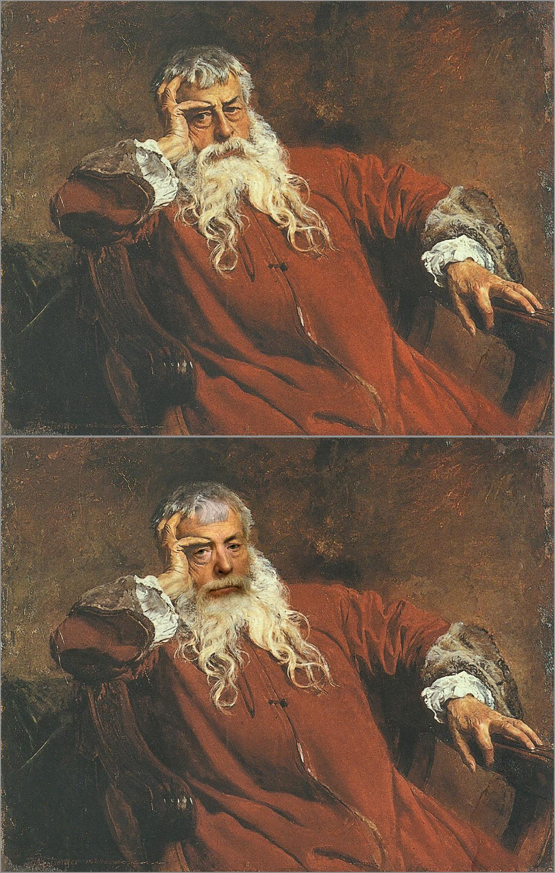 Jean-Louis-Ernest Meissonier, Self Portrait, 1881, Chris Golson.
