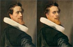 Nicolaes Eliaszoon Pickenoy, Self Portrait, 1627, Chris Golson.