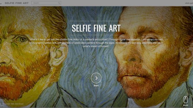 selfie fine art on Google forever!