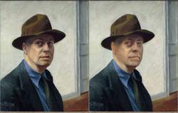 Edward Hopper, Self Portrait, 1925-1930 ,Chris Golson.jpg