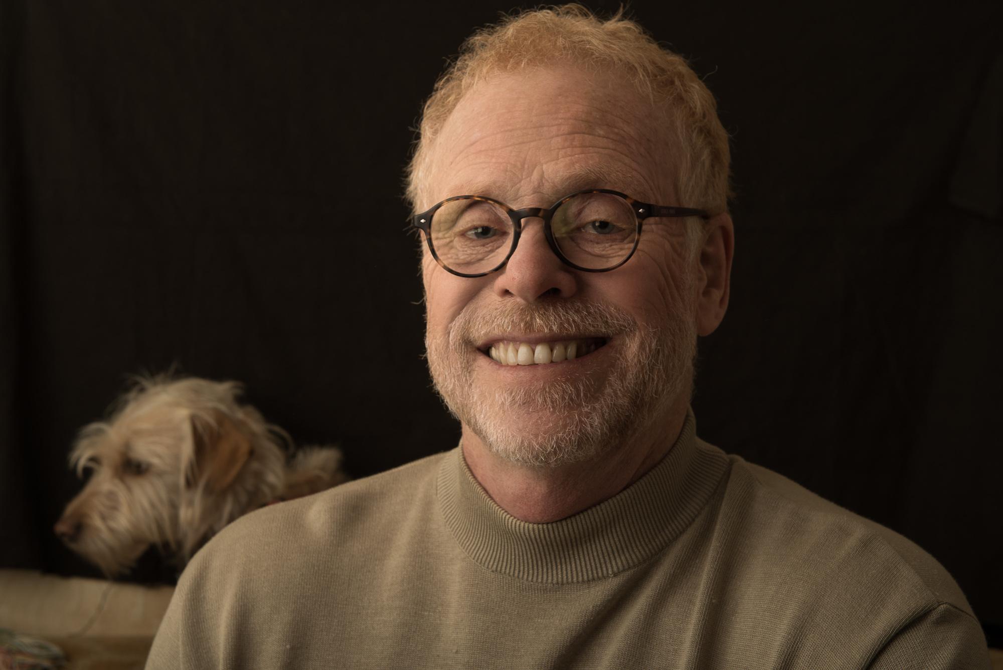Chris Golson self portrait w/ Nicky
