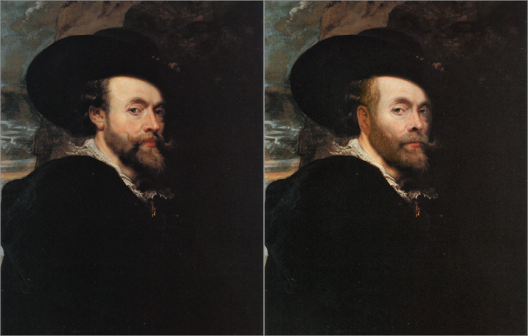 Peter Paul Rubens, Self Portrait 1623 Chris Golson.