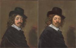 Frans Hals, Self Portrait, 1625, Chris Golson.