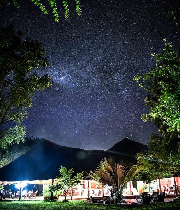Thornicroft Lodge Night Sky