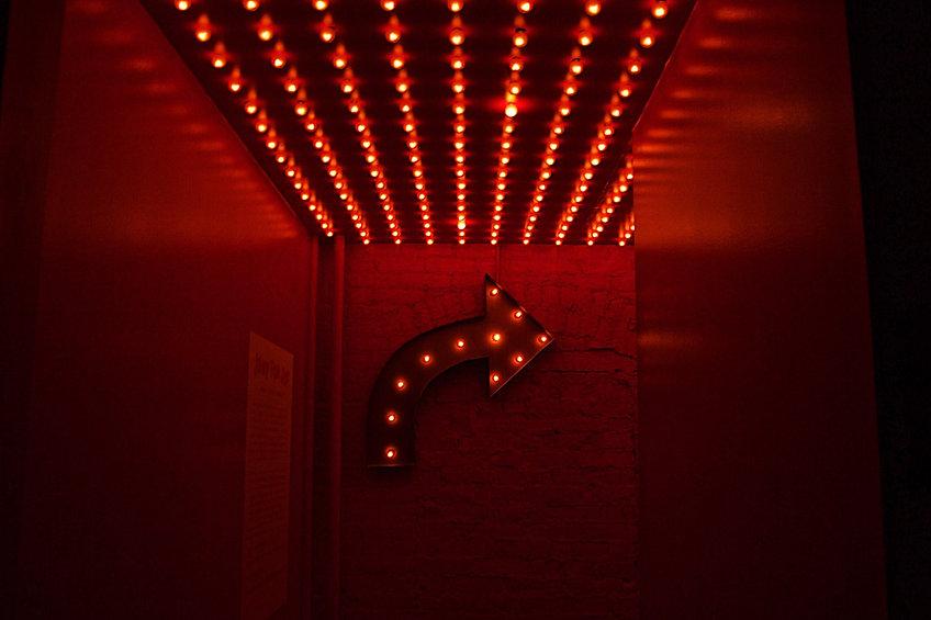 Luzes vermelhas