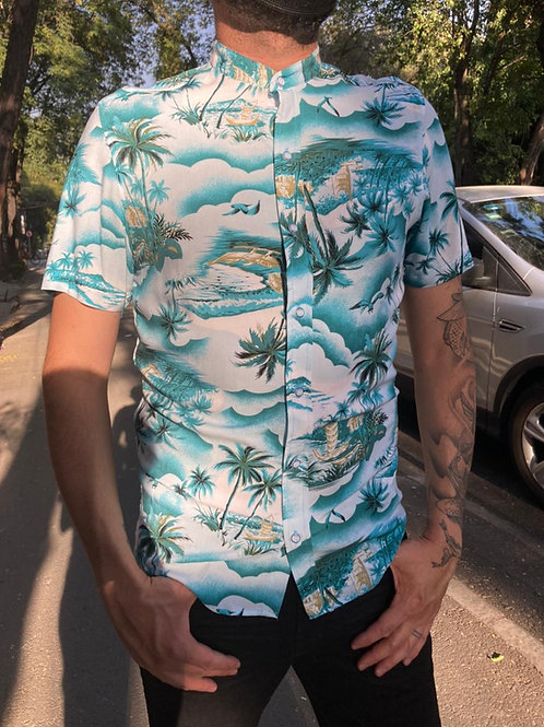 Camisa Caballero Tropical Playa