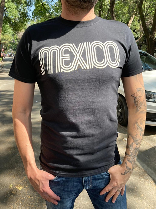 Playera México Blanco