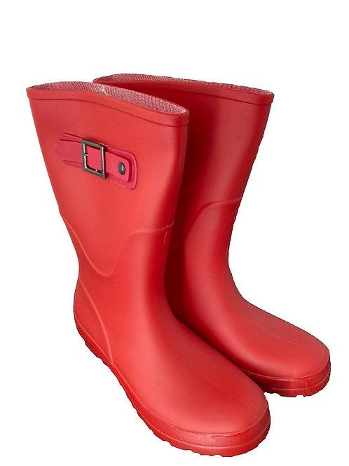 Botas Impermeables Rojas