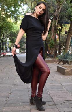 Bluson largo Jozz Negro1 (1)