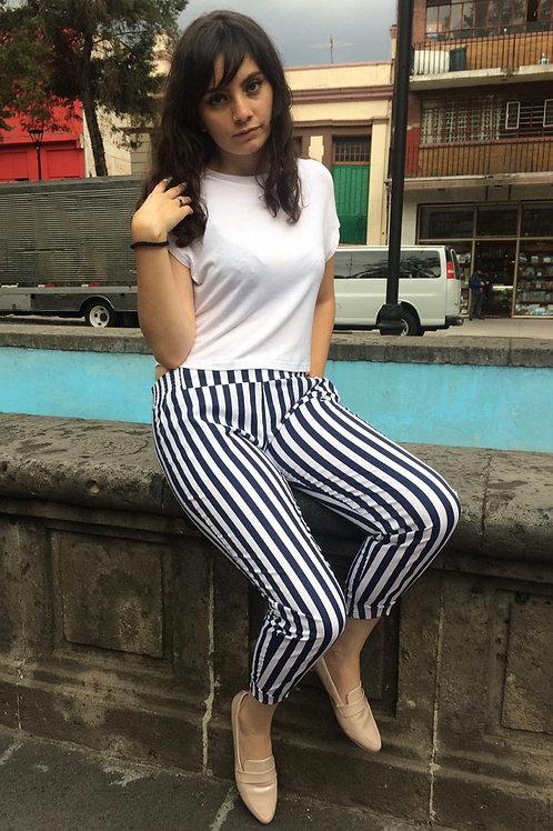 PESQUEROS FASHION LOVERS Color: Marino con blanco
