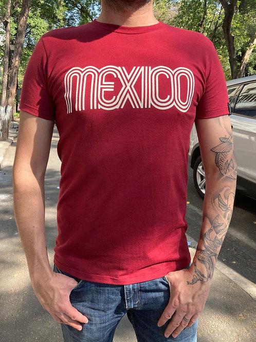 Playera México Rojo