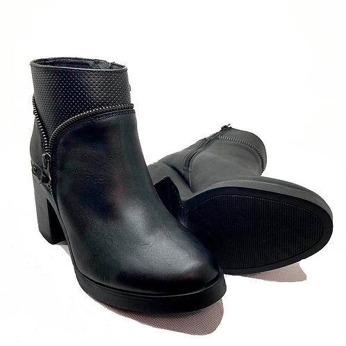 BOTIN CIERRE FASHION LOVERS NEGRO