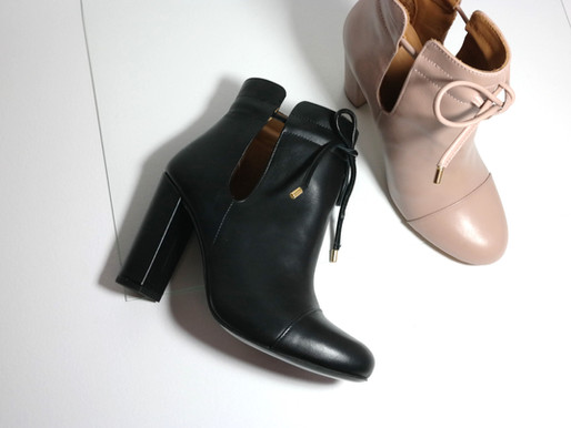 One pair of boots from the new Holiday Collection auctioned off for BelCham!