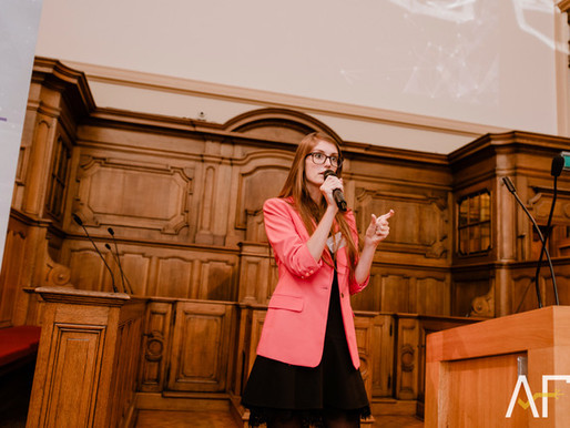 What do you want to be when you grow up? Elegnano Founder Katrien Herdewyn speaks at KULeuven