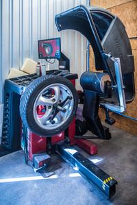 Hunter roadforce tire balancer