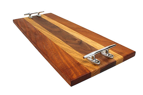 """5/8"""" x 8"""" x 20"""" Serving Tray w/ cleats"""