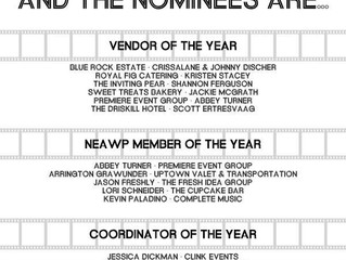 Nominated for Vendor of the Year!