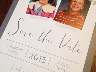 Personal save the dates