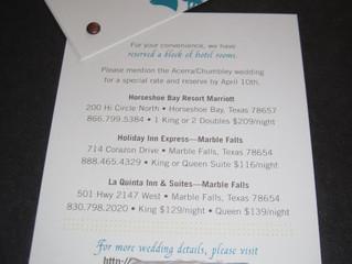 Horseshoe Bay Resort Modern Wedding