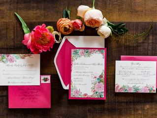 Pretty in (Hot) Pink Wedding
