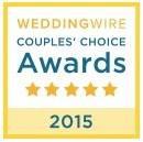 WeddingWire Couples' Choice Award 2015