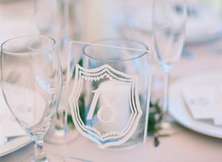 """Martha Stewart Weddings """"Prettiest Wedding Table Numbers"""""""