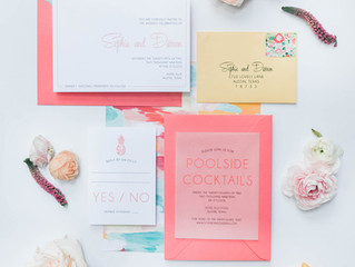 Palm Springs Wedding Invitation
