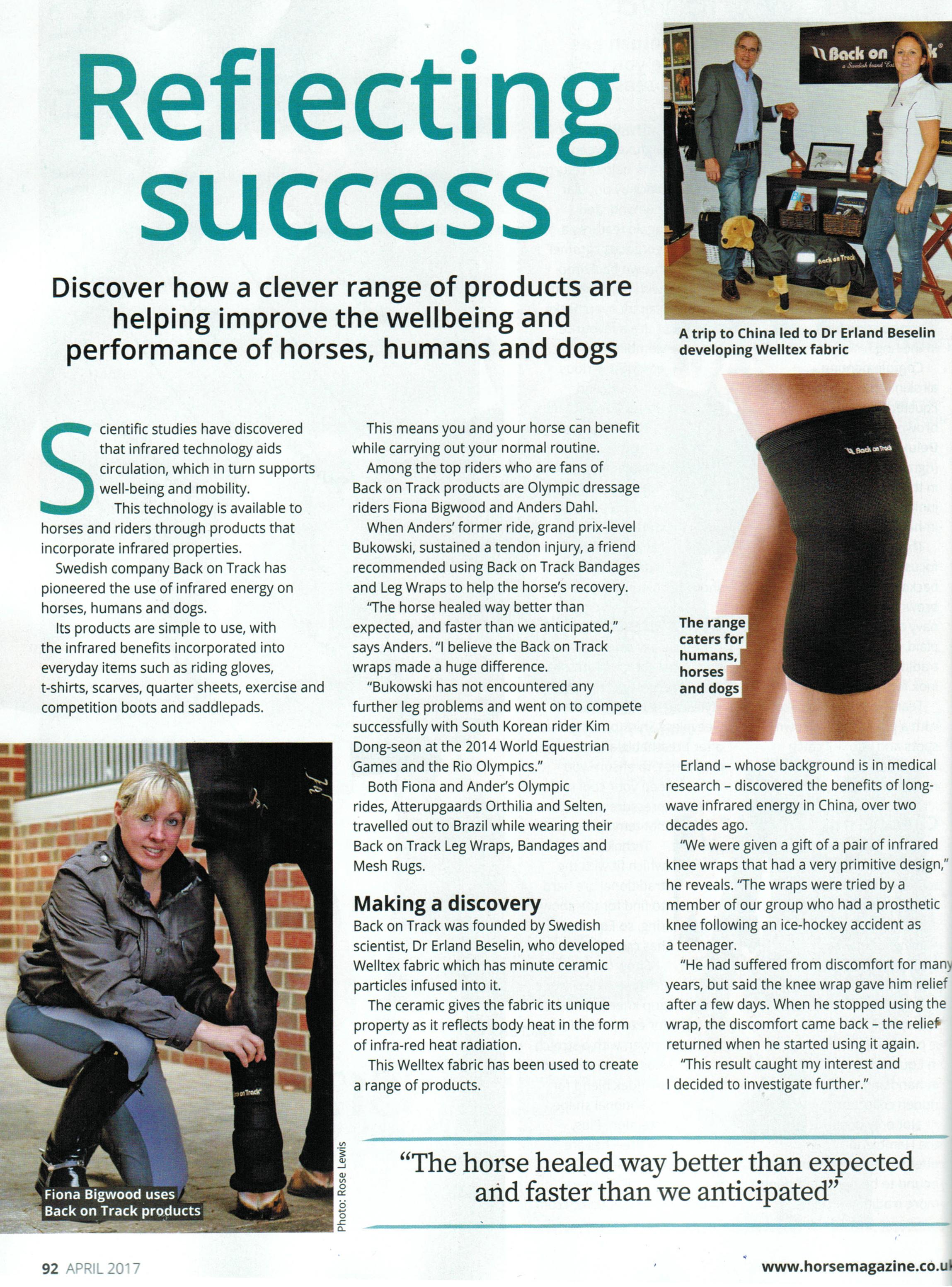 April Horse Mag