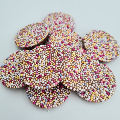 Chocolate Flavour Disco Disks x10